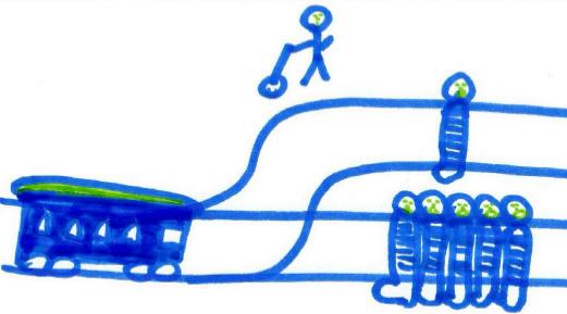 trolley dilemma