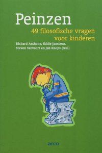 De cover van het boek Peinzen; om te filosoferen met kinderen