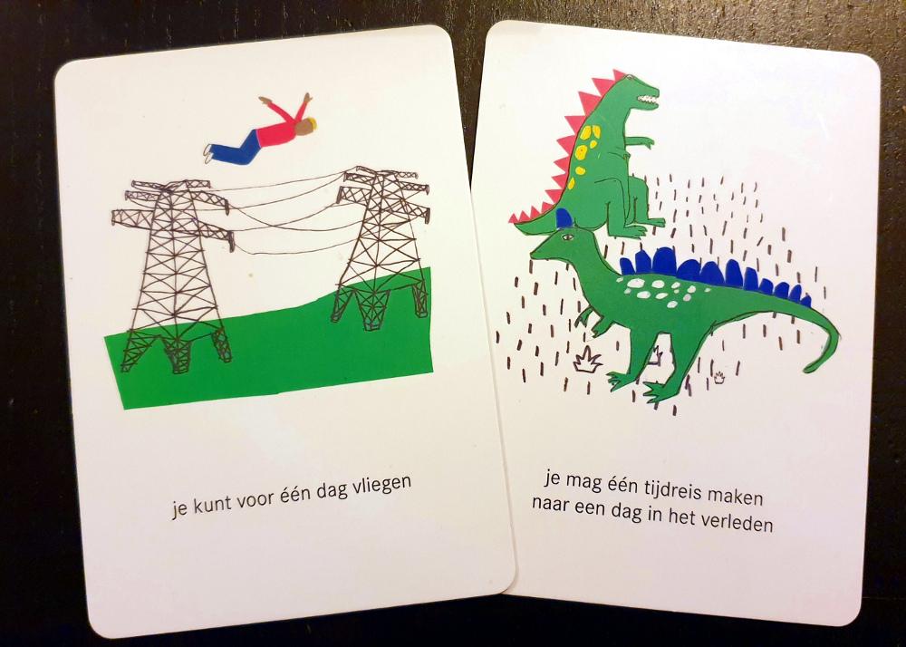 Voorbeeld Dilemmakaarten