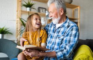 Interactief voorlezen is goed voor de ontwikkeling van het kind