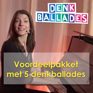 Voordeelpakket van vijf Denkballades