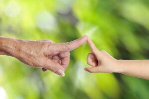 Filosoferen met je kleinkind zorgt voor bijzonder contact