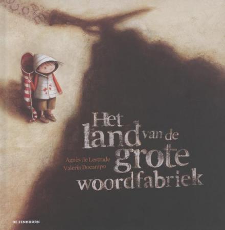 Cover van Het land van de grote woordfabriek