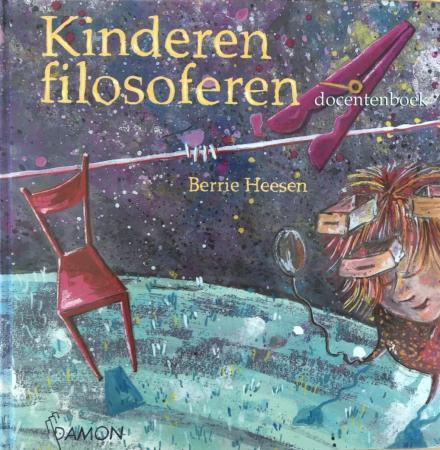 Cover van Kinderen filosoferen van Berrie Heesen