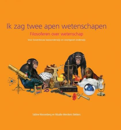 Cover Ik zag twee apen wetenschapen