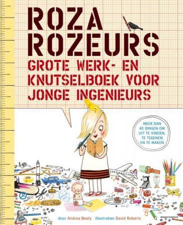 Cover van het Roza Rozeur doeboek