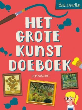 Cover grote kunst doeboek